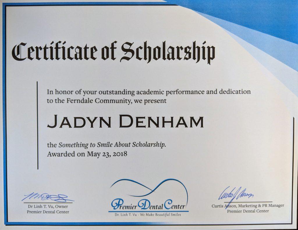 Premier Dental Center Scholarship